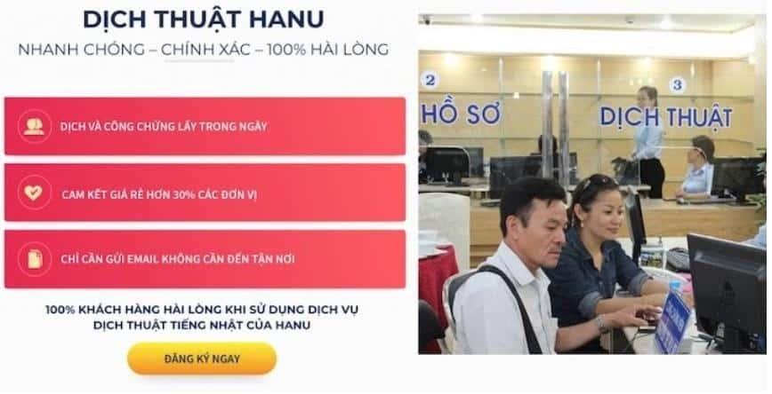 dịch thuật hanu